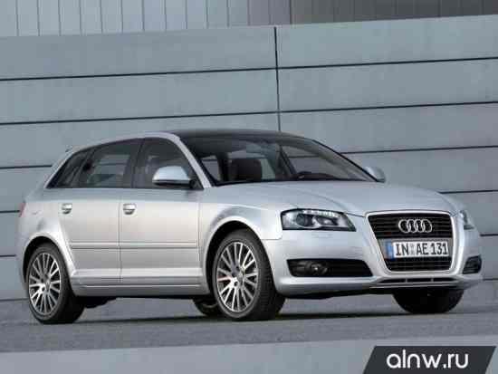 Audi A3 II (8P) Хэтчбек 5 дв.
