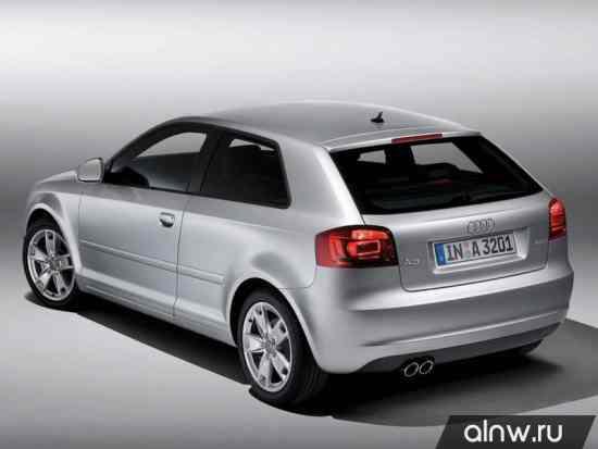 Каталог запасных частей Audi A3 II (8P) Хэтчбек 3 дв.