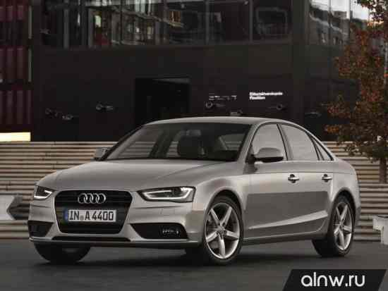 Audi A4 IV (B8) Рестайлинг Седан