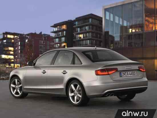 Каталог запасных частей Audi A4 IV (B8) Рестайлинг Седан