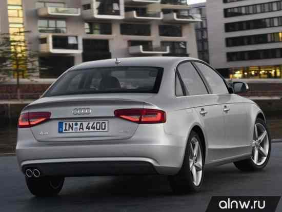 Программа диагностики Audi A4 IV (B8) Рестайлинг Седан
