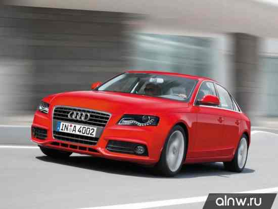 Каталог запасных частей Audi A4 IV (B8) Седан