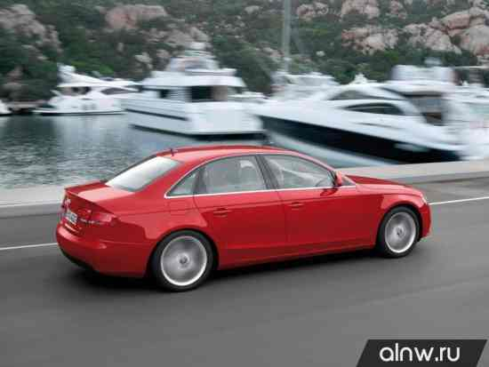 Программа диагностики Audi A4 IV (B8) Седан