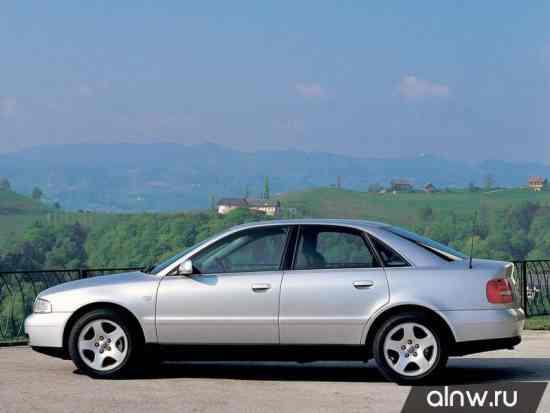 Каталог запасных частей Audi A4 I (B5) Седан