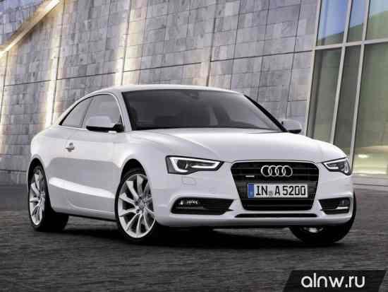 Руководство по ремонту Audi A5 I Рестайлинг Купе
