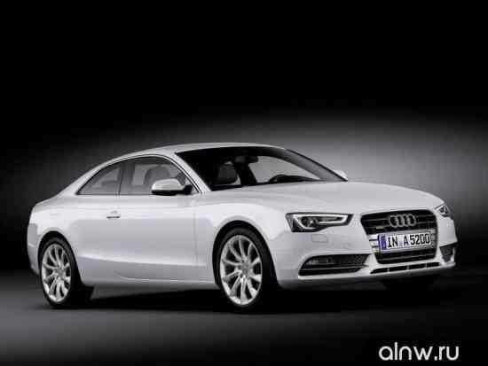 Каталог запасных частей Audi A5 I Рестайлинг Купе