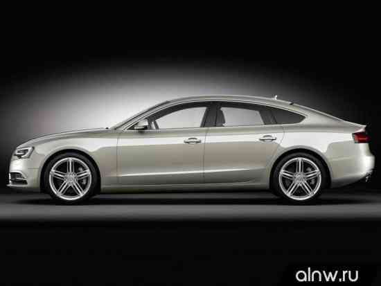 Каталог запасных частей Audi A5 I Рестайлинг Лифтбек