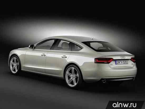 Программа диагностики Audi A5 I Рестайлинг Лифтбек