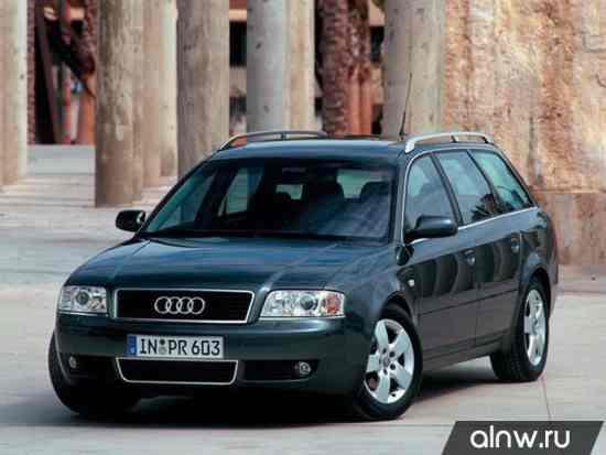 Audi A6 II (C5) Рестайлинг Универсал 5 дв.