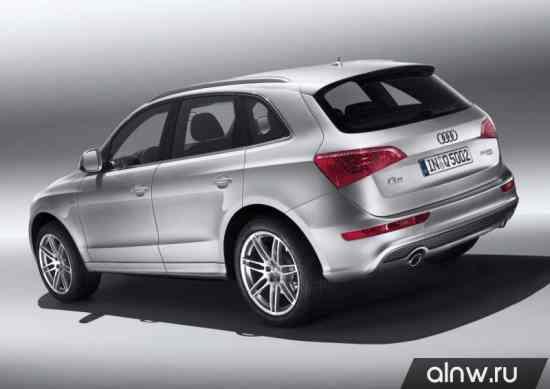 Каталог запасных частей Audi Q5 I Внедорожник 5 дв.