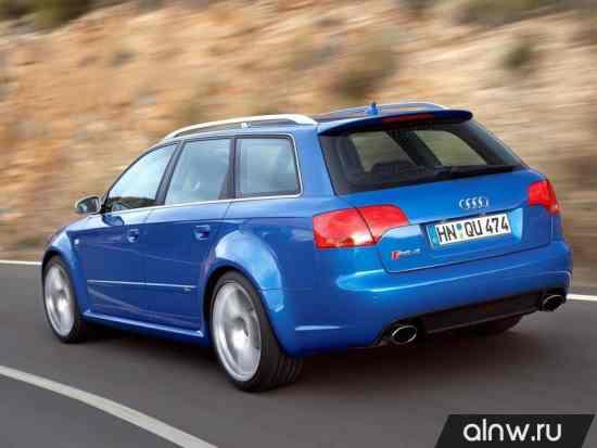Каталог запасных частей Audi RS4 II (B7) Универсал 5 дв.