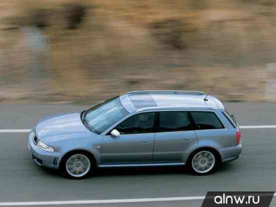 Каталог запасных частей Audi RS4 I (B5) Универсал 5 дв.