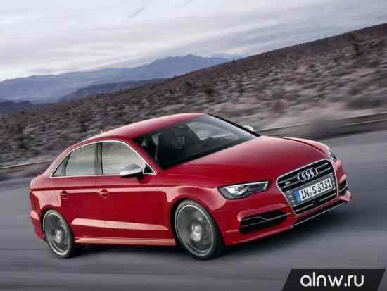 Каталог запасных частей Audi S3 III (8V) Седан