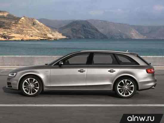 Каталог запасных частей Audi S4 IV (B8) Рестайлинг Универсал 5 дв.