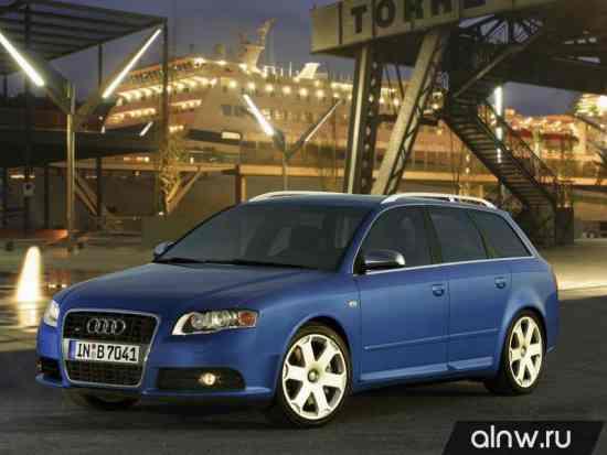 Программа диагностики Audi S4 III (B7) Универсал 5 дв.