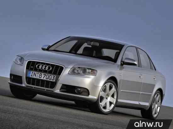 Каталог запасных частей Audi S4 III (B7) Седан