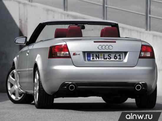Каталог запасных частей Audi S4 II (B6) Кабриолет
