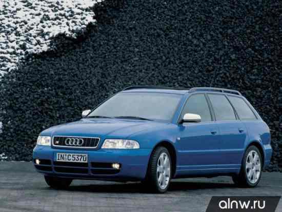 Каталог запасных частей Audi S4 I (B5) Универсал 5 дв.