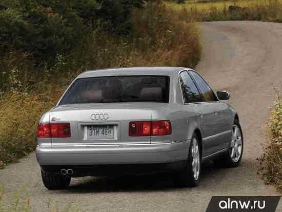 Программа диагностики Audi S8 I (D2) Седан