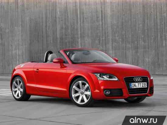 Каталог запасных частей Audi TT II (8J) Родстер