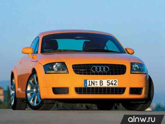 Каталог запасных частей Audi TT I (8N) Купе