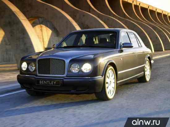 Каталог запасных частей Bentley Arnage II Седан