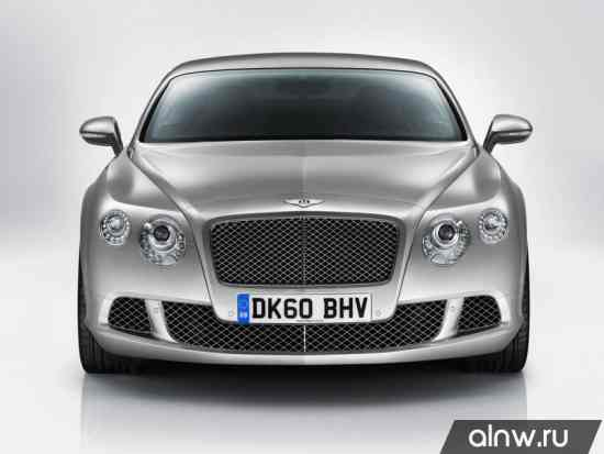 Инструкция по эксплуатации Bentley Continental GT II Купе