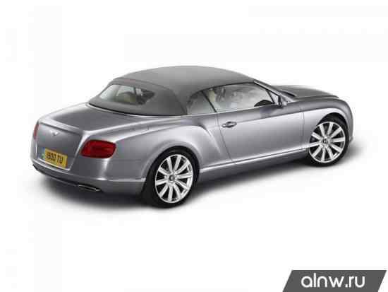 Инструкция по эксплуатации Bentley Continental GT I Кабриолет