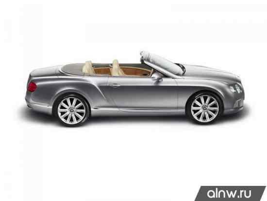 Каталог запасных частей Bentley Continental GT I Кабриолет