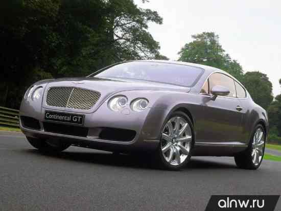 Инструкция по эксплуатации Bentley Continental GT I Купе
