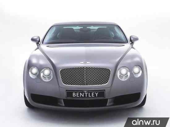 Каталог запасных частей Bentley Continental GT I Купе