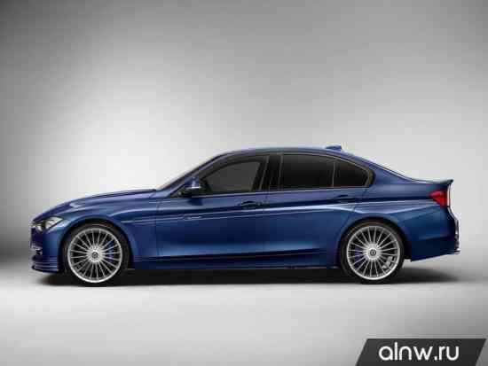 Каталог запасных частей BMW Alpina 3 series VI (F30) Седан