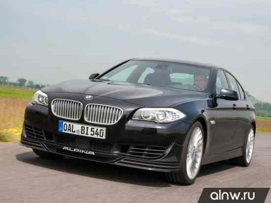 Инструкция по эксплуатации BMW Alpina 5 series VI (F10/11) Седан