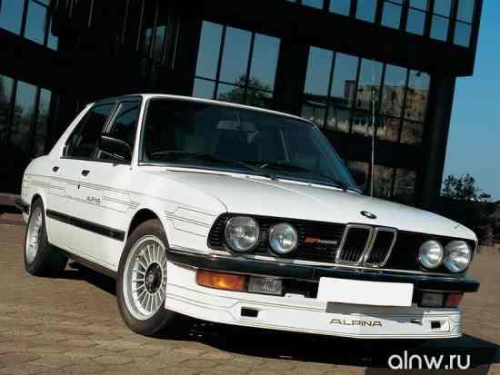 Инструкция по эксплуатации BMW Alpina 5 series II (E28) Седан