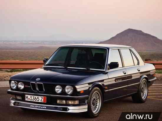 Каталог запасных частей BMW Alpina 5 series II (E28) Седан