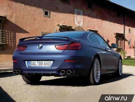 Инструкция по эксплуатации BMW Alpina 6 series III (F12/F13) Купе