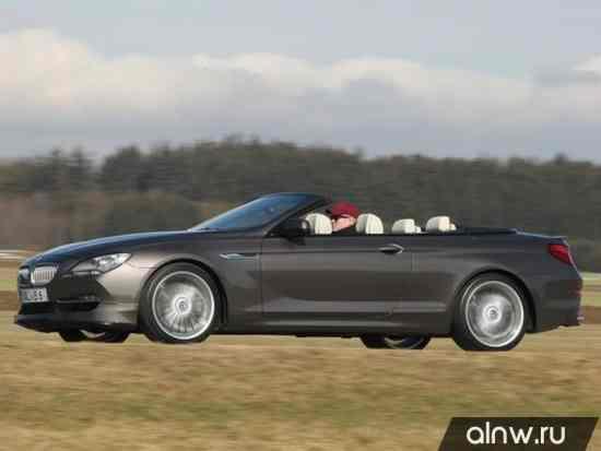 Инструкция по эксплуатации BMW Alpina 6 series III (F12/F13) Кабриолет