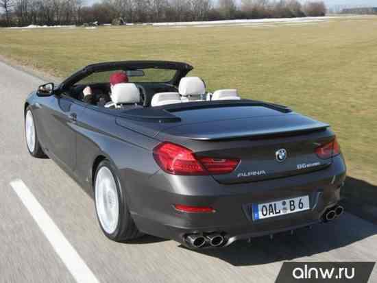 Каталог запасных частей BMW Alpina 6 series III (F12/F13) Кабриолет