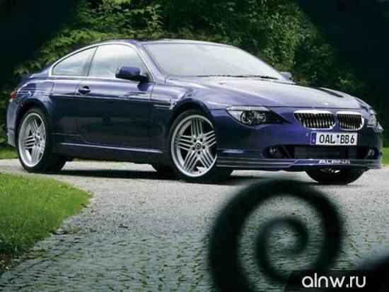 Каталог запасных частей BMW Alpina 6 series II (E63/64) Купе
