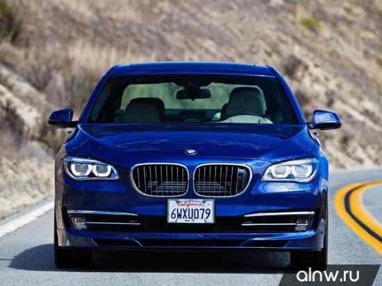 Инструкция по эксплуатации BMW Alpina 7 series V (F01) Седан