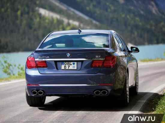 Каталог запасных частей BMW Alpina 7 series V (F01) Седан