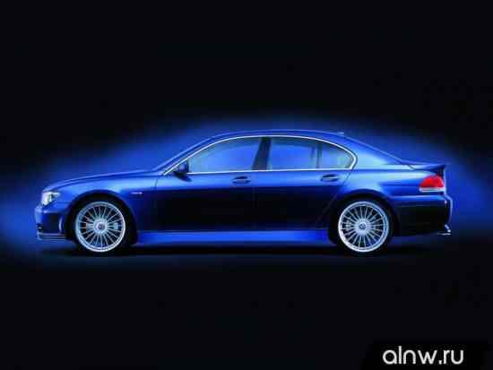Инструкция по эксплуатации BMW Alpina 7 series IV (E65/66) Седан