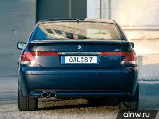 Каталог запасных частей BMW Alpina 7 series IV (E65/66) Седан