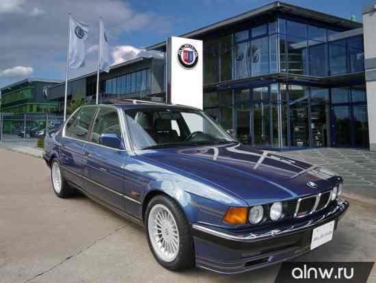 Инструкция по эксплуатации BMW Alpina 7 series II (E32) Седан