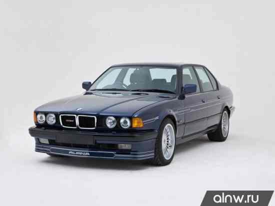 Каталог запасных частей BMW Alpina 7 series II (E32) Седан