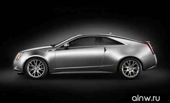 Каталог запасных частей Cadillac CTS II Купе