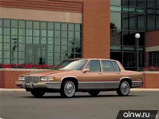 Руководство по ремонту Cadillac De Ville VI Седан