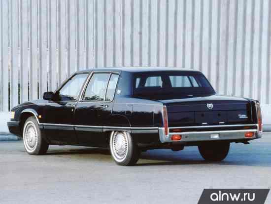 Инструкция по эксплуатации Cadillac Fleetwood I Седан