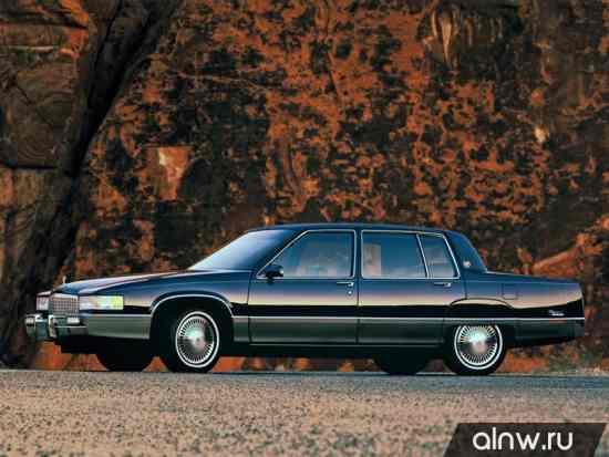 Каталог запасных частей Cadillac Fleetwood I Седан