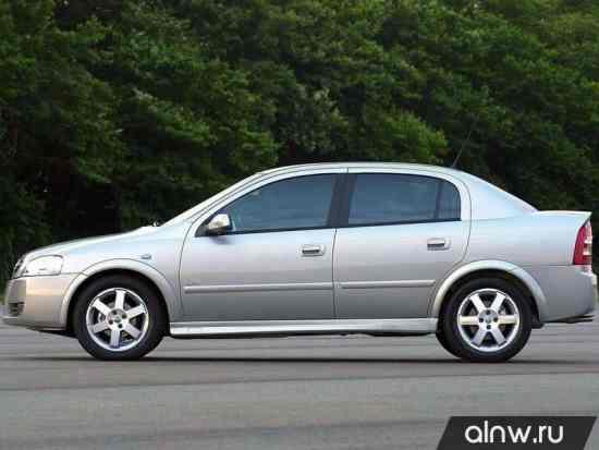 Каталог запасных частей Chevrolet Astra  Седан